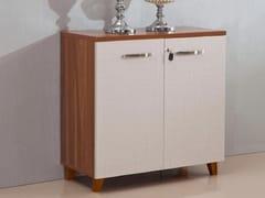 Mobile ufficio basso in legno con serraturaEVOLUTIO D506 - ARREDIORG