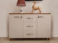 Mobile ufficio basso in legno con cassettiEVOLUTIO D606 - ARREDIORG
