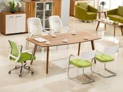 Tavolo da riunione rettangolare in legnoEVOLUTIO | Tavolo da riunione - ARREDIORG