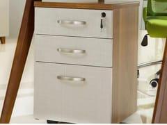 Cassettiera ufficio in fibra di legno con serraturaEVOLUTIO | Cassettiera ufficio - ARREDIORG