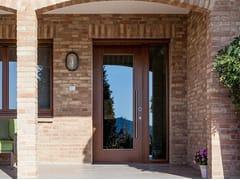 Porta d'ingresso con vetro blindatoEVOLUTION   Porta d'ingresso in legno e vetro - OIKOS VENEZIA
