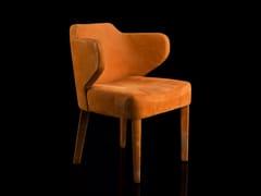 Sedia in tessuto con braccioliEX-TRA - H-07