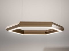 Lampada a sospensione a LED in metalloEXAGON - OLEV