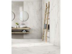 Pavimento in gres porcellanato effetto marmoEXALT   Magic White - CERIM FLORIM SPA