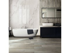 Pavimento/rivestimento in gres porcellanato effetto marmoEXALT   Silver Light - CERIM FLORIM SPA