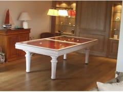 Tavolo da biliardo rettangolare in legno masselloEXCELLENCE - BILLARDS TOULET