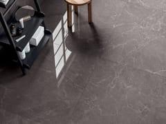 Pavimento/rivestimento in gres laminato effetto marmoEXEDRA - RAIN GREY - COTTO D'ESTE
