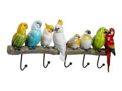 Appendiabiti da parete in resinaEXOTIC BIRDS - KARE-DESIGN