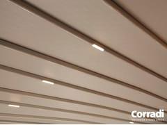 Lampada da soffitto per esterno a incasso EXPERIENCE - Chiusure e complementi
