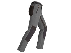 Pantalone elasticizzato slimEXPERT GRIGIO/NERO - KAPRIOL
