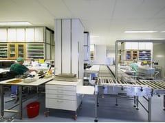 Saint-Gobain ECOPHON, Ecophon Hygiene Clinic™ A Pannelli per controsoffitto fonoassorbente in lana di vetro per ambienti sanitari
