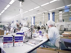 Saint-Gobain ECOPHON, Ecophon Hygiene Protec™ Air A Pannelli per controsoffitto fonoassorbente in lana di vetro per ambienti sanitari