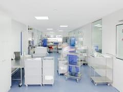 Saint-Gobain ECOPHON, Ecophon Hygiene Protec™ Ds Pannelli per controsoffitto fonoassorbente in lana di vetro per ambienti sanitari