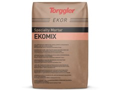 Collante Rasante in polvere a base cemento, aggregati minerali selezionati, additiviEkomix - TORGGLER