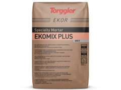 Collante rasante per l'incollaggio e la rasatura di panelli isolanti in lana di rocciaEkomix Plus - TORGGLER