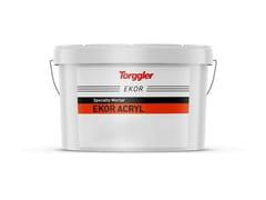 Rivestimento acrilico in pasta per facciate su sistemi di isolamento termico e intonaciEkor Acryl - TORGGLER