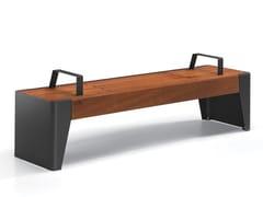 City Design, FÒLA | Panchina senza schienale  Panchina senza schienale