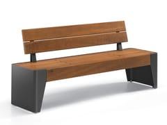 City Design, FÒLA | Panchina con schienale  Panchina con schienale