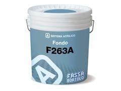 Rasante in pasta ad effetto intonaco per esterni ed interniF 263 A - FASSA