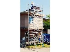 Ponteggio e struttura tubolareF135 TORRE SERVIZIO - FRIGERIO CARPENTERIE
