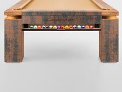 Tavolo da biliardo rivestito in tessutoFABRIC MEMORY - NUEVEPIES BARCELONA