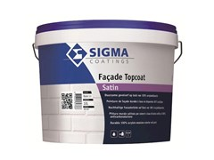 Pittura murale acrilica anticarbonatazione per esterniFACADE TOPCOAT SATIN - SIGMA COATINGS