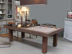 Tavolo da biliardo rettangolare in legno masselloFACTORY - BILLARDS TOULET