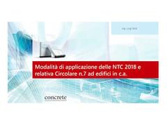 Modalità di applicazione NTC 2018 e relativa Circolare N.7FAD | Corso di formazione a distanza - CONCRETE