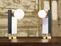 Lampada da tavolo a luce indiretta in alluminioFAKE TWINS - PASCAL AND PHILIPPE