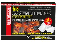 Cubetti accendifuoco per barbecueFALÒ ACCENDIFUOCO CUBETTI - SARATOGA INT. SFORZA