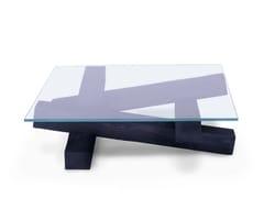 Tavolino quadrato in cristalloFALÒ - ARKOF LABODESIGN
