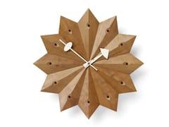 Orologio in legno da pareteFAN CLOCK - VITRA