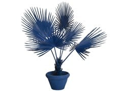 Pianta artificiale in plastica FAN PALM IN POT - POLS POTTEN