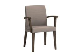 Sedia in tessuto con braccioli FANDANGO   CONTRACT   Sedia con braccioli - FANDANGO   Contract