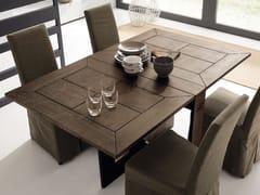 Consolle allungabile rettangolare in legno masselloFARFALLA - ALTA CORTE
