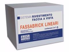 Mattoncini per rivestimento a faccia vistaFASSABRICK - FASSA