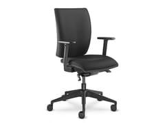 Sedia ufficio imbottita con braccioliFAST 235-SYS - LD SEATING