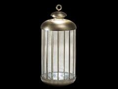 Lampada da terra a LED in metallo e vetroFATA MORGANA | Lampada da terra - ITALAMP