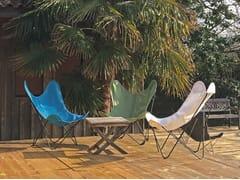 Poltrona da giardino pieghevole sfoderabile in Batyline®AA© BATYLINE by Serge Ferrari - AIRBORNE