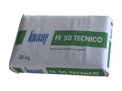 Massetto fluido premiscelato per interniFE 80 TECNICO - KNAUF ITALIA