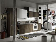 Cucina componibile lineare con maniglie FEEL | Cucina lineare - EVERYONE