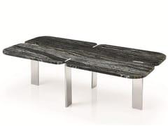 Tavolino rettangolare in marmo FENDA | Tavolino rettangolare -