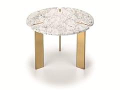 Tavolino rotondo in marmo FENDA | Tavolino rotondo -