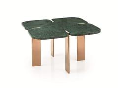 Tavolino quadrato in marmo FENDA | Tavolino quadrato -