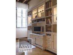 Libreria con porta tvFENICE   Libreria con illuminazione - ARVESTYLE