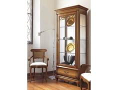 Vetrina in legno massello con illuminazione integrata FENICE | Vetrina con illuminazione integrata - Fenice