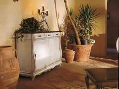 Madia in legno massello con ante scorrevoli FENICE | Madia laccata - Fenice