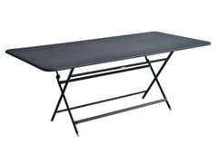 Tavolo da giardino pieghevole rettangolare in acciaioFERMOB - CARACTERE - ARCHIPRODUCTS.COM
