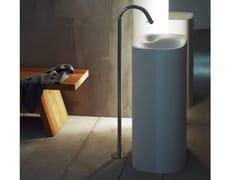 Bocca di erogazione da terra in ottone per lavaboFEZ 2 | Bocca di erogazione per lavabo - AGAPE