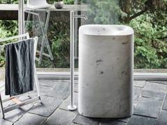 Miscelatore per lavabo da terra monocomando in ottoneFEZ 2 | Miscelatore per lavabo - AGAPE